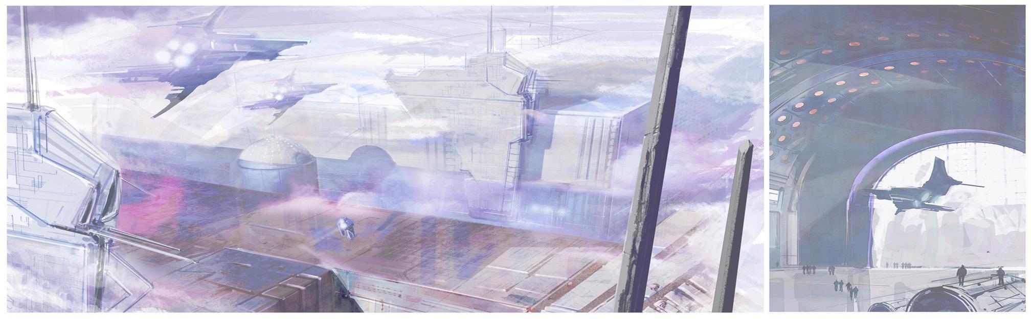 Genesis - modern city